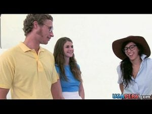 Photoshoot set turns into orgy April O'Neil, Jayden Lee & Lara Brookes.1