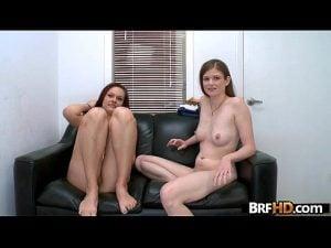 Casting together Kacee Daniels & Lara Brookes a couple amateur newbies 1.5