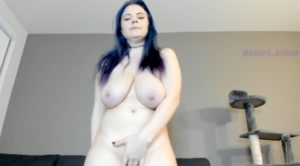 Big Sexy Tits Asiri_Stone-Blue Hair Porn Girl Using Vibrator