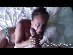 Emo Babe Squirting with Creampie