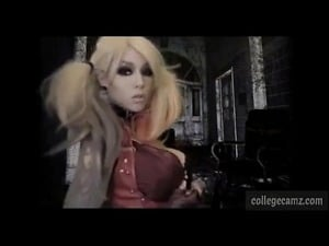 , cute nerd girl masturbating video from xnakedcams.com